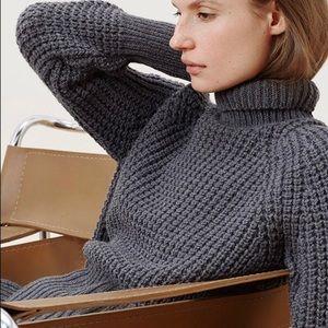 Everlane • Waffle Knit Turtleneck Sweater